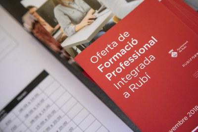 El consistori promou l'FP a través de Rubí Forma (foto: Ajuntament de Rubí – Lali Puig).