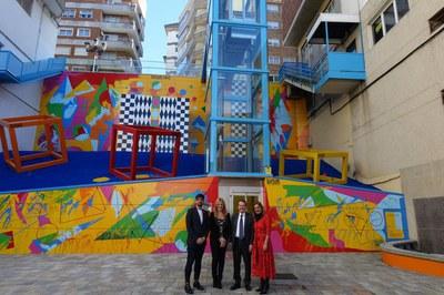 Ana María Martínez Martínez i Moisés Rodríguez Cantón, amb Abel Caballero Álvarez i Carmela Silva Rego (foto: Concello de Vigo).