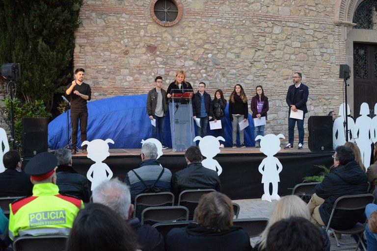 Discurs de l'alcaldessa (foto: Localpres)