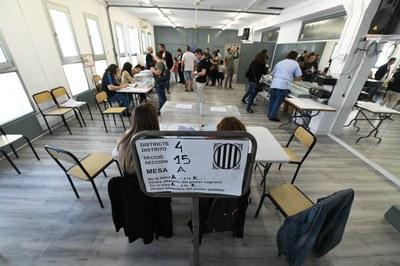 Els col·legis estaran oberts fins les 20 h (Foto: Ajuntament/ Localpres).