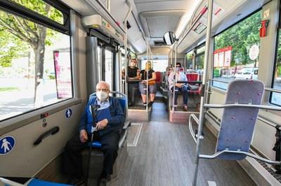 A Rubí operen un total de 7 línies de bus urbà (foto: Ajuntament de Rubí – Localpres).