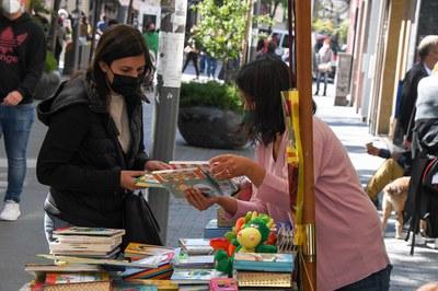 Parades de llibres (foto: Ajuntament de Rubí - Localpres)