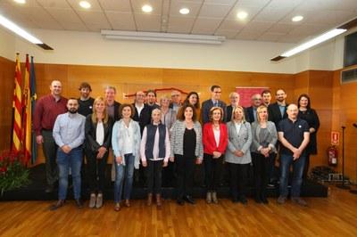 Els alcaldes i alcaldesses del Consell en un moment de la celebració (foto: CCVOC).