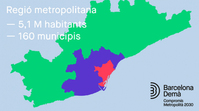 Es planteja la necessitat d'un espai de governança que impliqui els municipis de l'anomenada segona corona (foto: PEMB).