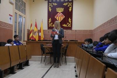La lectura ha tingut lloc aquest divendres a la sala de plens (Foto: Ajuntament/Localpres).