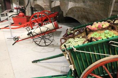 Aquest dijous s'ha inaugurat una exposició sobre els Tres Tombs a El Celler (foto: Ajuntament – Lali Puig).