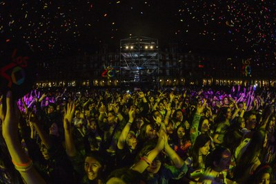 Primavera Pop 2016, a la Plaza Mayor de Madrid (foto: Los40).