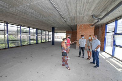 L'escola s'ubicarà a la segona planta del Mercat (foto: Ajuntament de Rubí – Localpres).