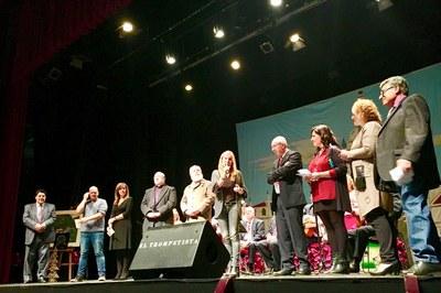 El festival 'Nochebuena para todos' s'ha celebrat aquest dissabte al Teatre Municipal La Sala.