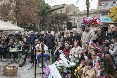 Imatge de la Zambombada (foto: Ajuntament – Lali Puig)
