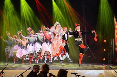 Espectacle de l'Esbart (foto: Localpres)