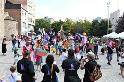 La imatgeria popular ha estat protagonista de la festa (foto: Ajuntament de Rubí – Localpres).