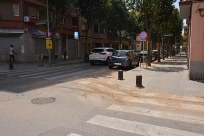 Aquest dissabte, les tasques es concentraran al c. Pau Claris i al passeig de las Riera (foto: Ajuntament).