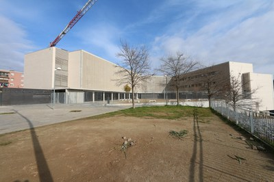 El nou edifici de l'INS Torrent dels Alous es va estrenar el curs 2018-2019 (foto: Ajuntament).
