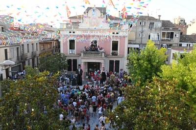 Pregó de la Festa Major 2019 (foto: Ajuntament de Rubí - Localpres).
