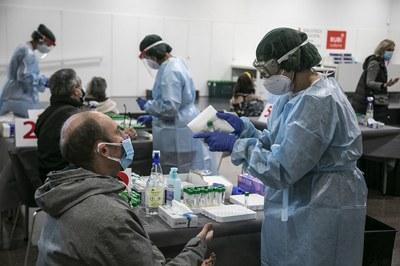 Les proves seran realitzades per personal del Banc de Sang i Teixits (foto: Ajuntament de Rubí - Lali Puig).