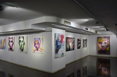 Les obres de Sergi Muñoz se centren en l'expressió de diferents sentiments (foto: Ajuntament de Rubí).