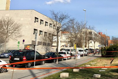 El mòdul s'instal·larà a partir d'aquest divendres davant del CAP (foto: Ajuntament de Rubí - Localpres).
