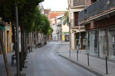 Les actuacions afecten la circulació al carrer Maximí Fornés.
