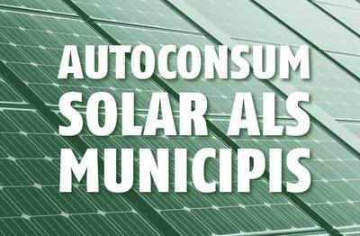 Últimes places lliures pel 6è Congrés Rubí Brilla sobre l'autoconsum solar als municipis.
