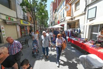 Molts establiments han ofert descomptes i promocions (foto: Ajuntament de Rubí - Localpres).