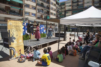 L'espectacle ha tingut lloc a la plaça Nova de Les Torres (foto: Localpres).