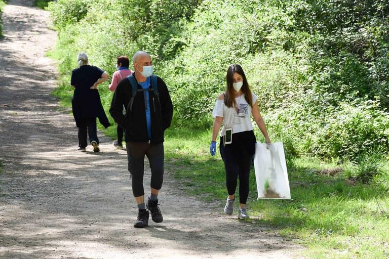 La ciutadania ha participat a l'activitat per grups bombolla (foto: Ajuntament de Rubí – Localpres)