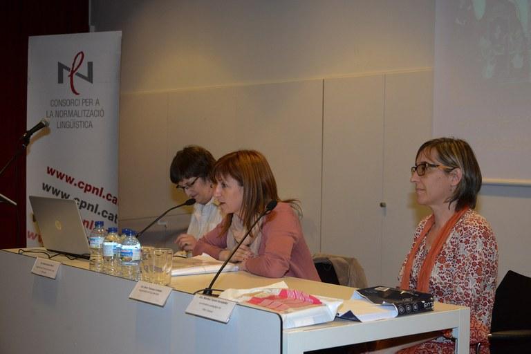 La regidora de Serveis a les Persones, Marta García, ha presidit el 4t Dictat Solidari (foto: Localpres)