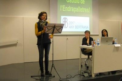 Un moment de l'acte (foto: Servei Local de Català).