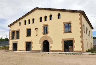 L'OSE està ubicada a la Masia de Can Serra (foto: Localpres).