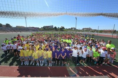 Prop de 800 nens i nenes de les escoles de Rubí han participat a les primeres Rubimpíades (foto: Ajuntament – Localpres).