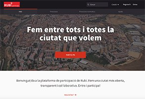 Web Participa Rubí