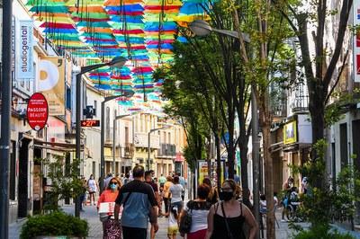 Umbrella Sky Project.