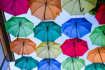Umbrella Sky Project.