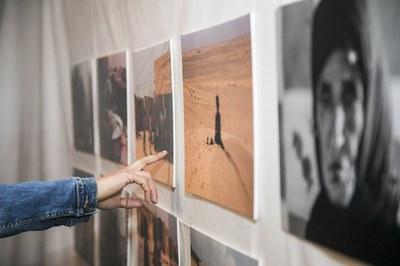 """La mostra """"Sàhara visible"""" es va exposar al Celler (foto: Ajuntament de Rubí – Lali Puig)."""