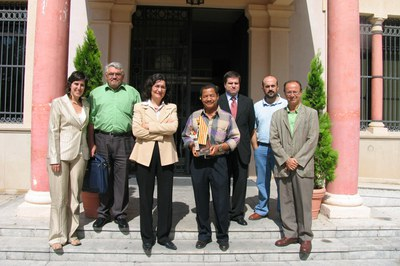 L'any 2012, una delegació nicaragüenca va visitar Rubí (foto: Ajuntament de Rubí).