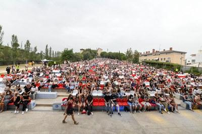 El públic ha omplert el parc del Castell (foto: Ajuntament de Rubí - Localpres).