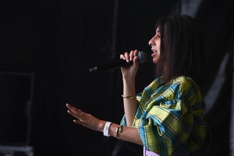 Amber Figueroa (foto: Ajuntament de Rubí – Localpres)