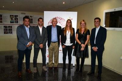 Alcaldessa i regidor van rebre alguns dels protagonistes.