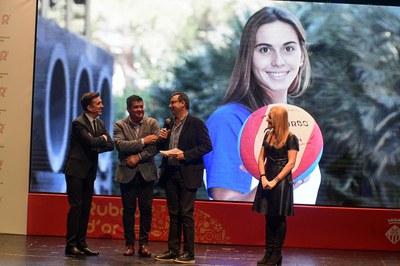 Bea Ortiz, Club Natació Sabadell (recull un familiar).