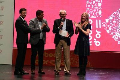 Real Betis Balompié, agraïment participació al 50è aniversari CE Olímpic Can Fatjó.