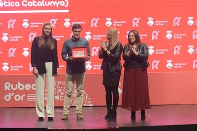 Iker Gómez (Agrupació Atlètica Catalunya).