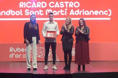 Ricard Castro (Handbol Sant Martí Adrianenc).