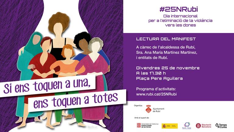 25 N: Dia Internacional contra la Violència Masclista