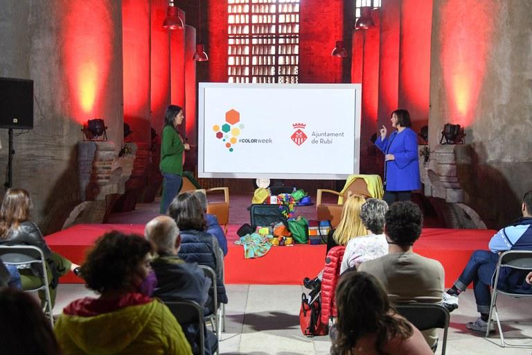 Emotions and their colours (photo: Ajuntament de Rubí - Localpres)