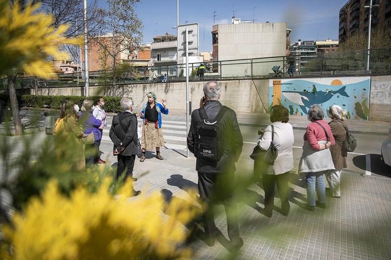 Street Art Walk with the Council for the Elderly (photo: Ayuntamiento de Rubí - Lali Puig)