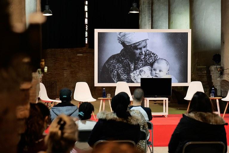 """""""Guillermina"""" film forum (photo: Ayuntamiento de Rubí - Localpres)"""