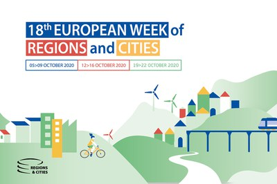 The 18th European Week of Regions and Cities can be followed online as a Covid-19 prevention measure.
