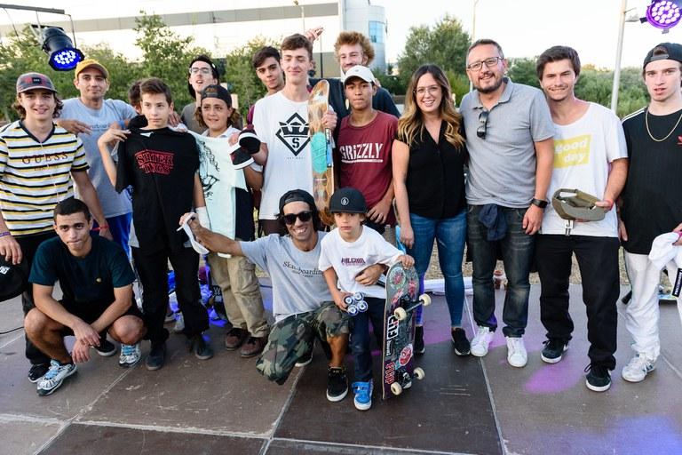 Entrega de premios 7º Skate Open Rubí