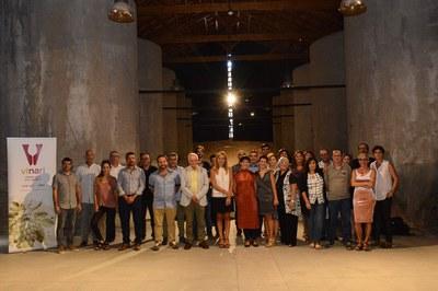 La cata final tuvo lugar en la sala de las tinas de 'El Celler' (foto: Localrpres).